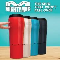 Mighty Mug Tumbler Botol Termos thermos minum Anti Tumpah Senggol