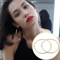 Anting Lingkaran/Bulat/Circle Gold
