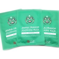 SNP DRAGON ANIMAL MASK - MASKER ANIMAL DRAGON SHEET MASK