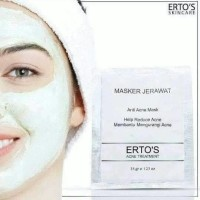 ERTOS AGNE TREATMENT /ERTOS MASKER JERAWAT BPOM