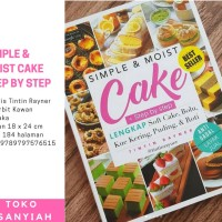 Hot Item! Buku Resep Masakan/Buku Simple & Moist Cake/Buku Resep Kue