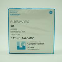 Whatman Filter Paper / Kertas Saring Grade 40 , 90 mm