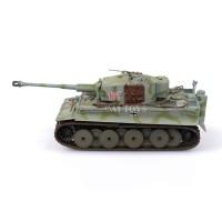Miniatur tank panser Tiger 1 sPzAbt 101 Easy Model 12 cm 1:72 mainan