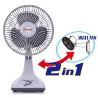 Harga jual kipas angin meja u002f dinding cosmos 7 inch u002f desk fan | Pembandingharga.com
