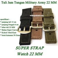 Tali Jam Tangan Military Army 22 MM