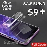 SAMSUNG S9 S 9 PLUS S9+ ANTI GORES FULL LAYAR SCREEN GUARD CLEAR 6AGD