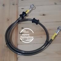 Selang Rem TDR Black Carbon 35 Inch / 90 Cm