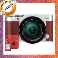 Kamera Mirrorless Fujifilm X-A3 / Fuji XA3  With XC 16-50mm Brown