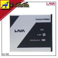 Baterai Handphone Lava Iris 750 758 LEB105 Batre HP lava Iris 750 758