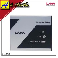 Baterai Handphone Lava Iris 820 80 60 LEB111 Batre HP Lava Iris 820