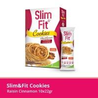SlimFit Cookies Raisin Cinnamon 10x22gr