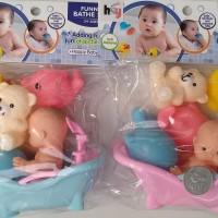 funny bathe set mainan bak mandi bayi anak baby bathub bath tub murah