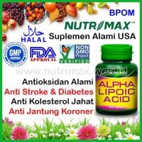 Nutrimax Alpha Lipoic Acid Penurun Kadar Gula Darah & Kolesterol (ALA)