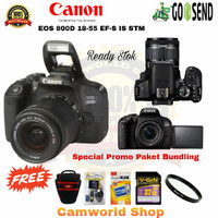 Canon eos 800D Kit 18-55mm is stm - Harga Paketan