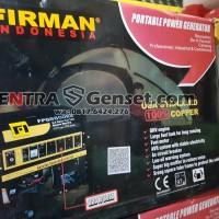 Genset 6500 Watt Firman. FPG8800E2