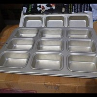 Jual New Mini Loaf Pan / Loyang Muffin Kotak Murah