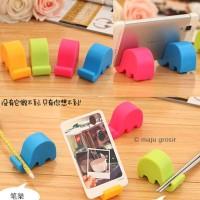 Holder Penyangga HP Smartphone Stand Gadget Model Gajah Sa Berkualitas