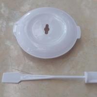 tutup gelas blender + adukan/sendok untuk miyako nasional sanex gmc