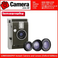 LOMOGRAPHY Instant Camera & Lenses (Oxford Edition)
