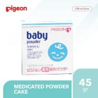 Pigeon Medicated Powder Cake Isi 45Gr - PR061115