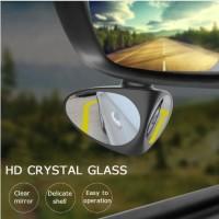 Spion Mobil KIRI / 1 Pcs Blind Spot Dual Use Wide Angle View Mirror