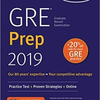GRE Prep 2019: Practice Tests + Proven Strategies + Online (Kaplan)