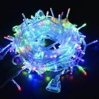 [ RGB ] Lampu natal led dekorasi lampu tumblr dgn colokan sambungan