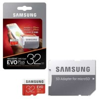 micro SD SAMSUNG EVO Plus 32GB memory card 32 GB Class 10 ORIGINAL