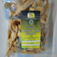 """Kerupuk Kornet Sapi Bogor """" Cap Warung """" 190 gram Snack Makanan Ringan"""