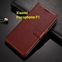 Flip Cover Xiaomi PocoPhone F1 Wallet Leather Case Casing HP
