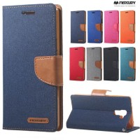 Canvas Diary Case Asus Zenfone Go B 4.5 Dompet Hp/Cover Hp/Original