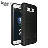 Case Ipaky Carbon Fiber Samsung  J7 / J7 CORE Softcase Shockproof TPU