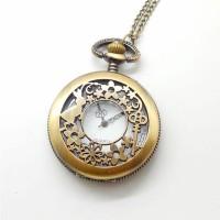 Harga jam saku kalung bahan kuningan untuk | antitipu.com