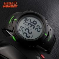 Jam Tangan Sport LED Multi Fungsi Anti Air untuk Lari