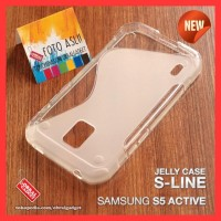 SOFT JELLY CASE SAMSUNG S5 ACTIVE SOFTCASE SILIKON SILICON CASING GEL