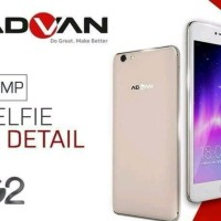 Hp Android 4LTE Termurah ADVAN G2. Ram 3gb. 5.5 Inch. Full Original