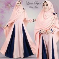 Harga baju busana muslim gamis linda syar i rose lavender bergo no | Pembandingharga.com