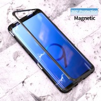 R-JUST Casing Samsung Galaxy Note 9 S9 Plus Case Magnetic Flip