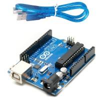 PROMO HQ UNO R3 MEGA328P ATMEGA16U2 for Arduino ORI GRADE USB Cable