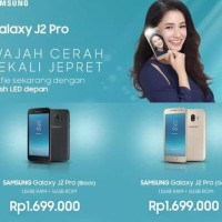 HP SAMSUNG GALAXY J2 PRO GARANSI RESMI SEIN 1 TAHUN - Hitam