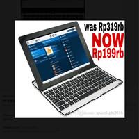 Harga ultra thin wireless bluetooth 3 0 interface ipad air black | Pembandingharga.com