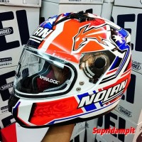 Helm Original Helm Nolan N64 Stoner Suzuka White Not AGV Shark Shoei