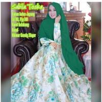 Gamis remaja dewasa muslimah hijab trendy syari rosalia tosca