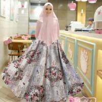 Syari dewasa fashion muslimah hijab muslimah remaja syari aster pink