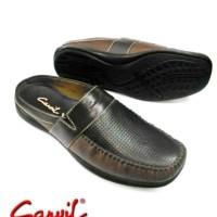 BARU Sepatu Sandal Sandal kulit CARVIL MOSCOW /brown