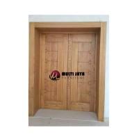 Jual Daun Pintu Minimalis Pintu Rumah Kupu Tarung Kusen Jendela Kab Jepara Multijaya Furniture Tokopedia
