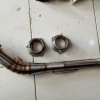 Leher knalpot satria fu dan adaptor 2
