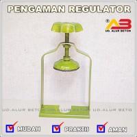 Pengaman Regulator Kompor Gas - LPG Safety Lock Tabung gas 3kg & 12kg