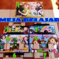 Meja Belajar Lipat Meja Belajar Anak Karakter Cewek