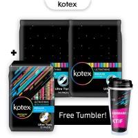 Kotex Ultrathins Package 1 - Free Tumbler
